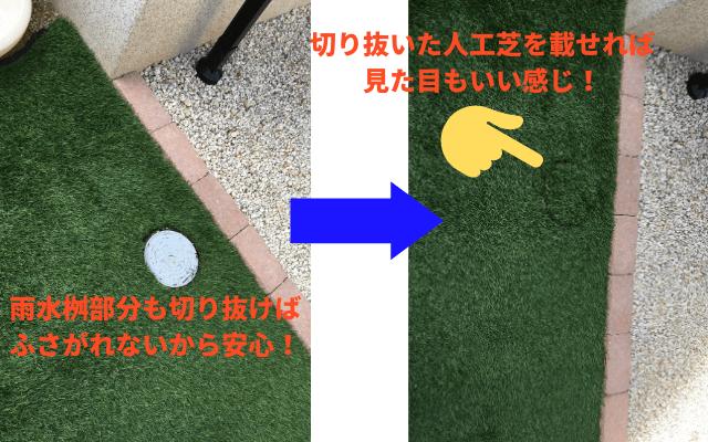 人工芝は防草シート付きがおすすめ!5